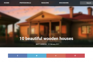 homify.com.my: 10 beautiful wooden houses