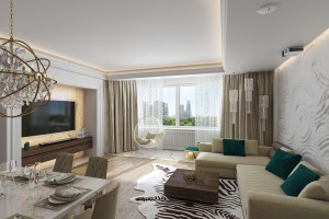 Квартира 120 метров на Проспекте мира