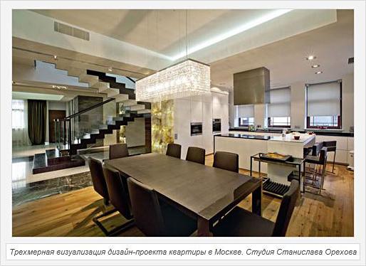 Трехмерные миры Станислава Орехова - для журнала Дом&Интерьер