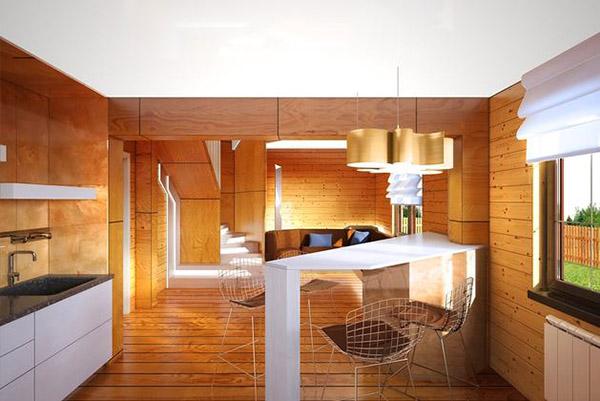 Roomble: Как из бани сделать дом: пример из Подмосковья